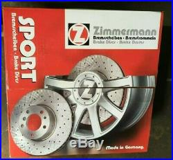 Zimmermann Sport-Bremsscheiben AUDI Sport Coat Z 5291798E 8K0615301A 100.3331.52