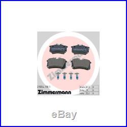 Zimmermann Sport Bremsscheiben + Bremsbeläge Vw Golf 5 Audi A3 Vorne Hinten